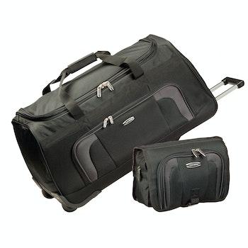 Reisetaschen-Set Orlando, 2-tlg., schwarz