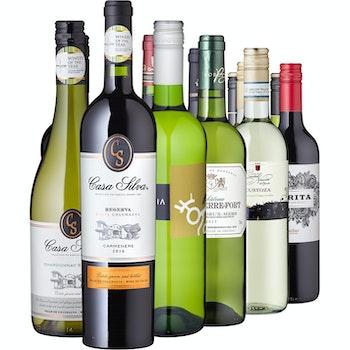 Weinreise - 12 Weine aus 6 Ländern