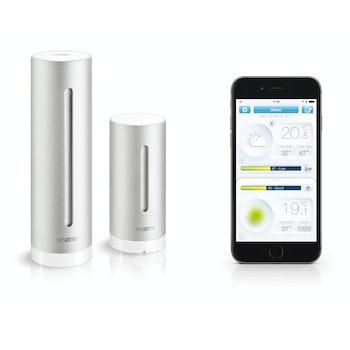 Urban Wetterstation mit App für Android / iOS / WP8, silber