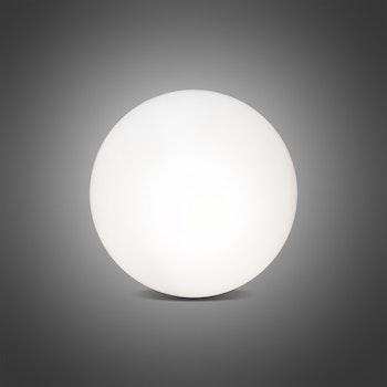 Außen- und Innenleuchte Shining Globe, Ø50 cm, weiß