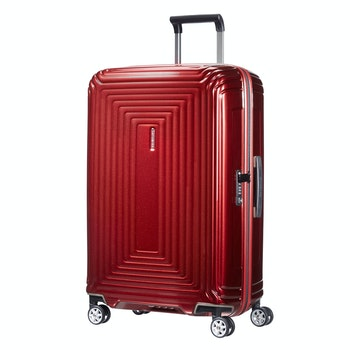 4-Rollen-Trolley Neopulse Spinner 69 cm, metallic red
