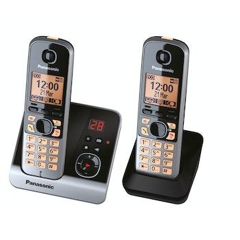 Schnurlos-Telefon KX-TG6722 mit AB und 1 zusätzlichen Mobilteil