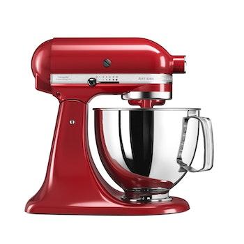 Küchenmaschine Artisan inkl. erweitertem Zubehör, rot