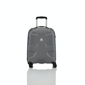 4-Rollen-Trolley X2, 55 cm, gun metal grey