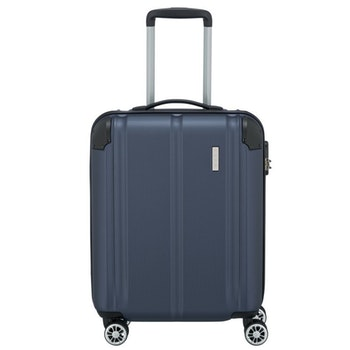 4-Rollen-Trolley City, 55cm, blau