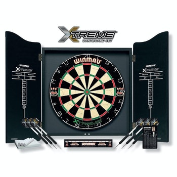 Dartboard Set Xtreme inkl. Cabinet