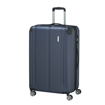 4-Rollen-Trolley City , 77 cm, marine