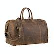 Reisetasche Leder, braun (1 von 4)