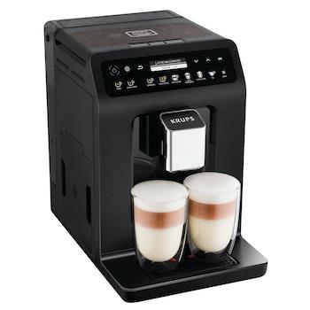 Kaffeevollautomat Doppel Cappuccino Evidence Plus EA8948, schwarz-metallic