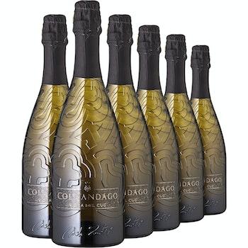 Prosecco Superiore brut DOCG Vigna del Cuc, 6 Flaschen