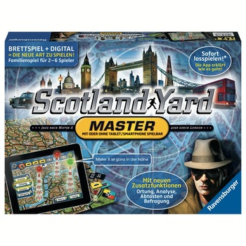 Familienspiel Scotland Yard Master