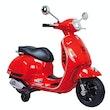 Ride-on Vespa GTS 125 rot 12V (1 von 3)