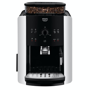 Kaffeevollautomat Arabica Picto Quattro Force EA8118, schwarz/silber