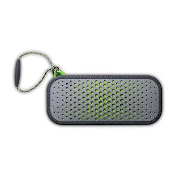 Bluetooth Lautsprecher BlockBlaster, grau/grün