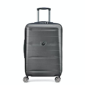 4-Rollen-Trolley COMETE+ 77 cm, schwarz