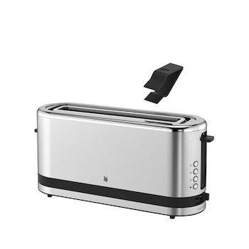 Toaster - Langschlitz, silber