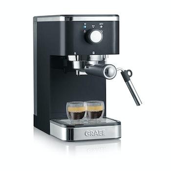 Siebträger-Espressomaschine salita, schwarz