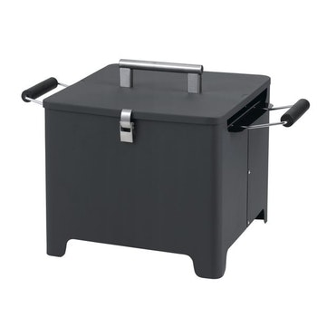 Chill und Grill Holzkohlengrill Cube, anthrazit