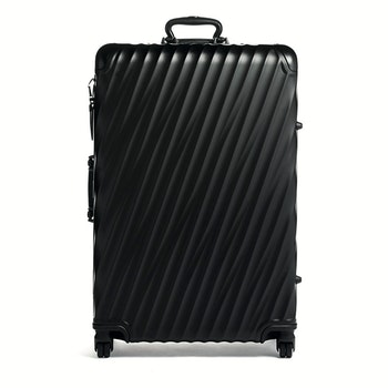 4-Rollen-Trolley 19 Degree Aluminium Spinner 78 cm, schwarz