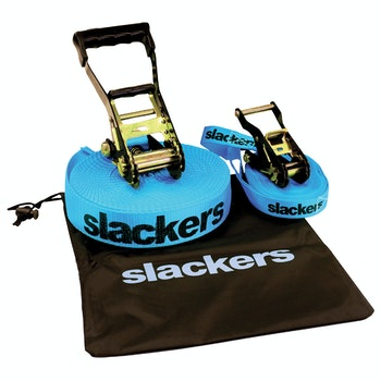 Slackers Slackline Classic inkl. gratis Teaching Line