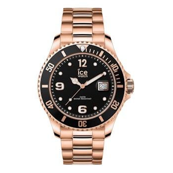 Unisex-Armbanduhr Ice Steel, rosé-gold
