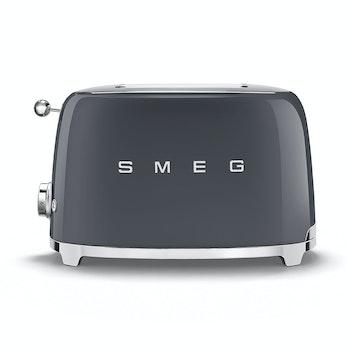 Kompakt-Toaster 50's Retro Style, slate grey matt