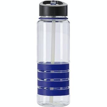 Trinkflasche Tritan Grip, 0,7L, blau
