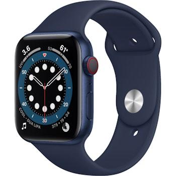 Watch Series 6 Alu GPS, MG143FD/A , 40mm, Blau