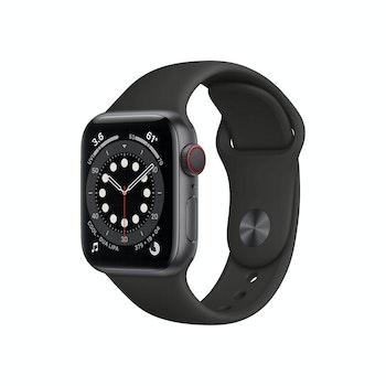 Watch Series 6 Alu GPS+Cellular, M06P3FD/A, 40mm, Space Grau