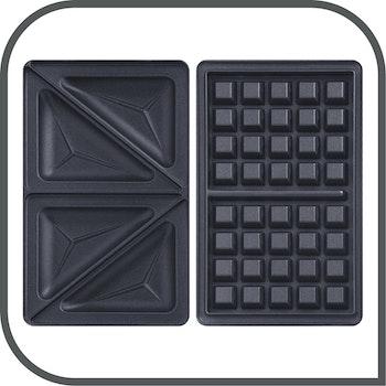 Sandwichtoaster und Waffeleisen Snack Time 2in1 (4 von 4)