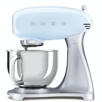 Küchenmaschine 50's Retro Style, pastellblau