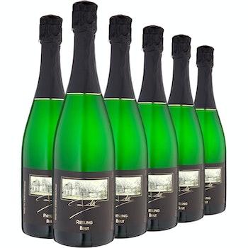 Sekt Riesling Brut Weingut Reh, 6 Flaschen