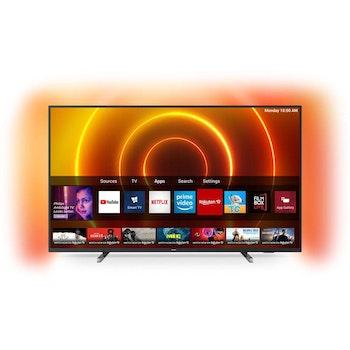 4K UHD LED SMART TV 75 Zoll mit 3-seitigem Ambilight