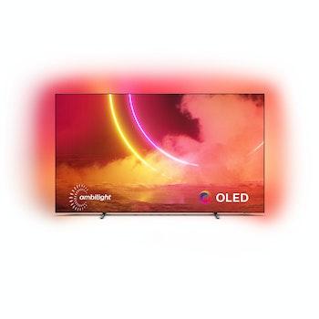4K UHD OLED SMART TV 55 Zoll mit 3-seitigem Ambilight