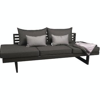 Lounge Liege New Holly, Aluminium anthrazit/karbon