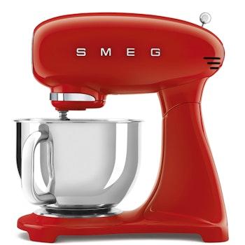 Küchenmaschine 50's Retro Style, rot