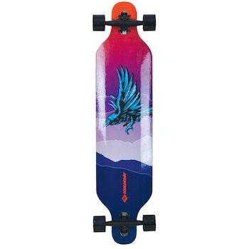 """Longboard Freeride 41"""" - God Feather"""
