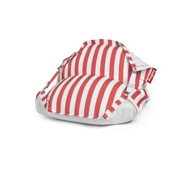 Schwimmender Sitzsack Floatzac Stripe Red