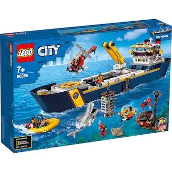 CITY Meeresforschungsschiff