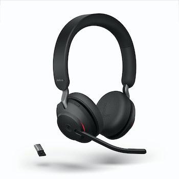 Kabelloses Headset Evolve2 65 mit Ladestation