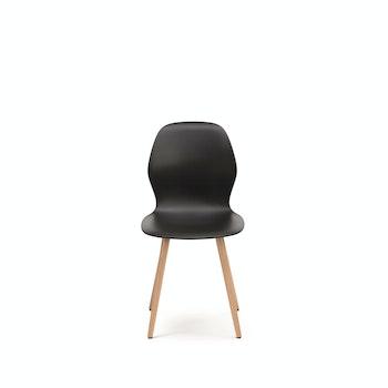 Stuhl Vierfussmodell se:spot, schwarz