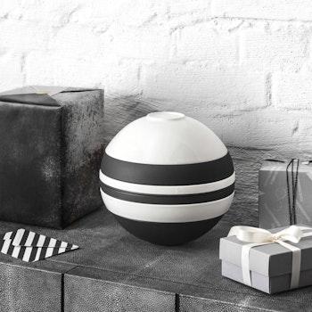 Kombiservice Iconic La Boule, 7-tlg., schwarz/weiß