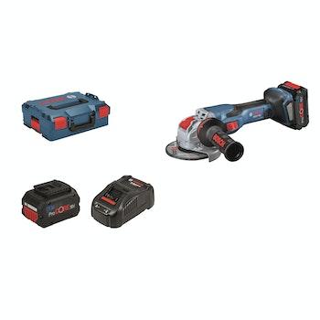 Winkelschleifer GWX 18V-15 C Professional, Kit, L-BOXX
