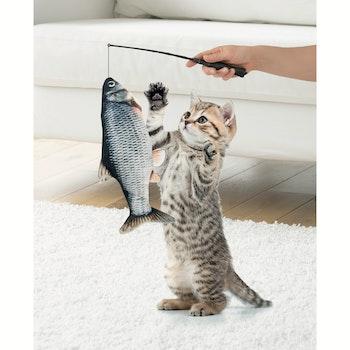 Zappelfisch, Elektrisches Katzenspielzeug
