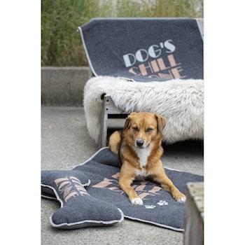 Hundedecke und Kuschel-Knochen Dog's Chillzone im Set