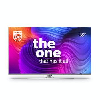 4K UHD LED SMART TV 65 Zoll mit 3-seitigem Ambilight