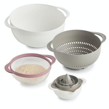 Küchenschüssel-Set Multifunktion, 5-tlg.