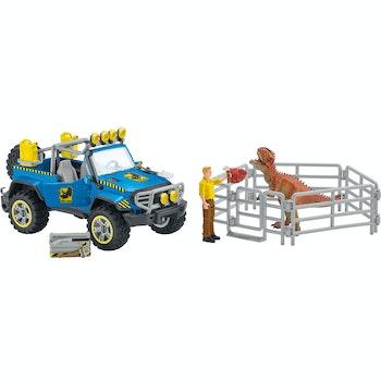 Geländewagen mit Dino Außenposten